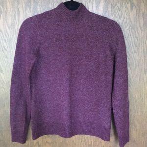 Abercrombie mock neck sweater size S
